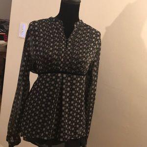 Boho black shirt